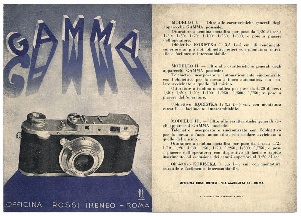 La Nostra Macchina Fotografica Mpr Fratelli Rossi